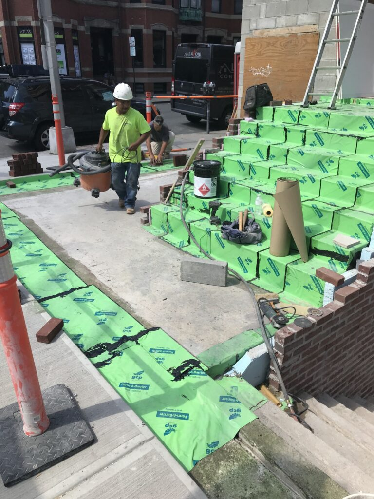 O'Neill Masonry Inc Waterproofing Boston